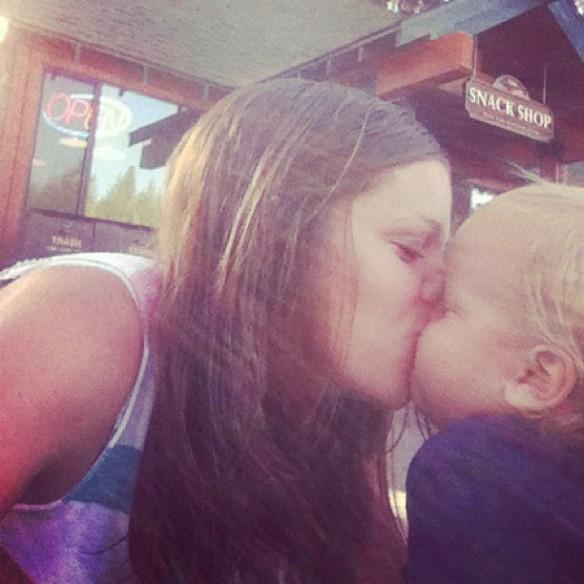 we like to kiss.